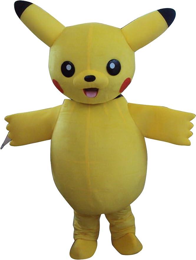 Happy Shop EU Pikachu Pokemon Halloween - Disfraz de máscara para ...