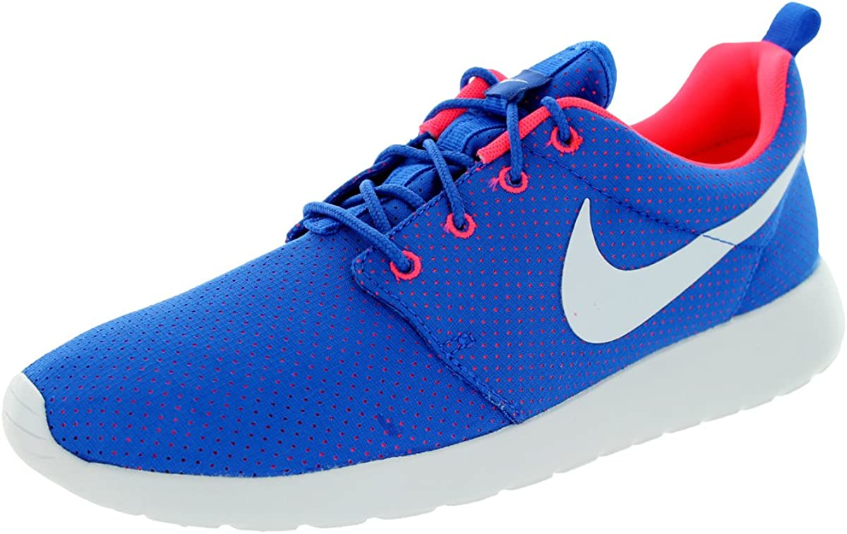 Nike Men s Rosherun Hyper Cobalt White Hyper Punch Running Shoe