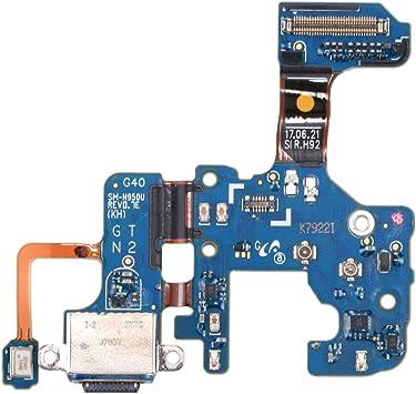 Repuesto Reemplazo de Piezas de reparación para Samsung Galaxy Note 8 / N950U Cable de Carga Flex Cable: Amazon.es: Electrónica
