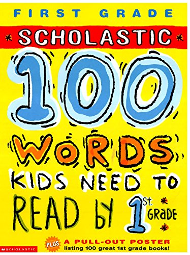 Download 100 Words Kids Need to Read by 1st Grade PDF