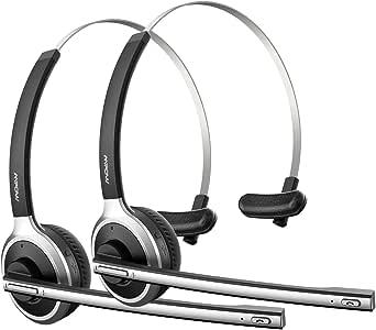 Mpow Auriculares Bluetooth con Micrófono para Oficina, 13
