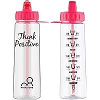 HydrateM8 Electric Pink 900ml Hydration Tracker Water Bottle, BPA Free - Living My Best Life
