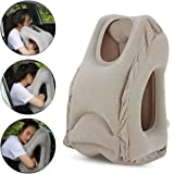Airplane pillow, Travel Pillow, Traveling pillow, Airplane Neck Pillow, Travel Pillows for Airplanes for Fully Support, Soft Flight Sleep Pillow Fast Inflating Nap Pillow
