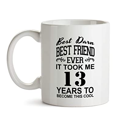Amazon 13th Best Friend Birthday Gift Mug