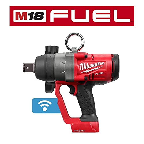 Milwaukee 2867-20 M18 FUEL 1 in. High Torque Impact Wrench with ONE-KEY Tool Only