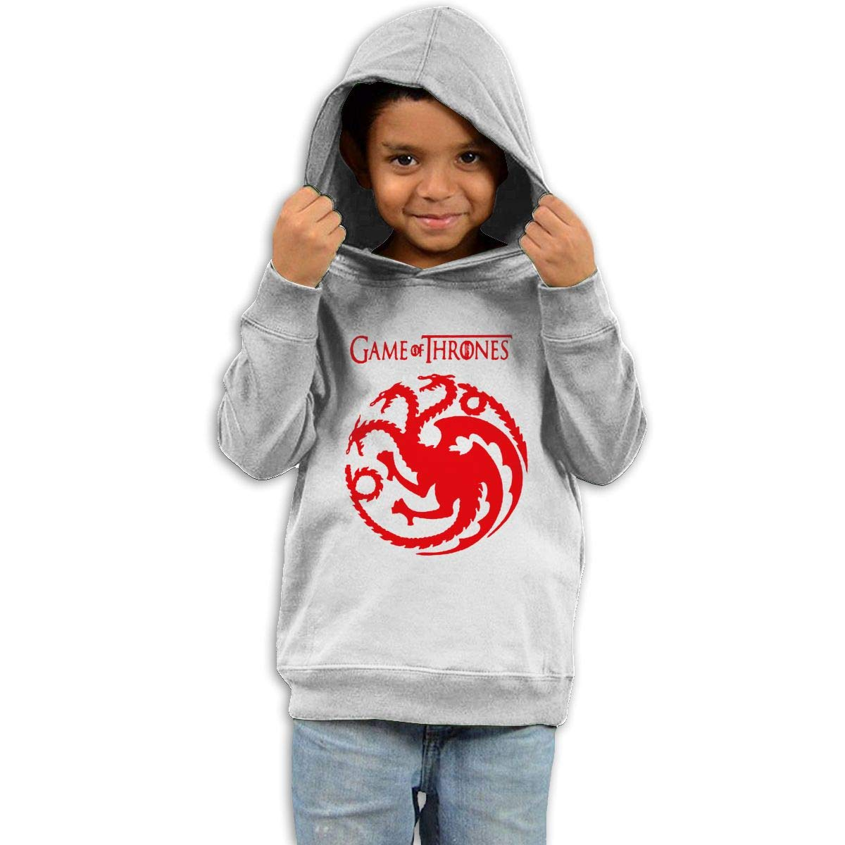 Stacy J. Payne Toddler Game Targaryen Funny Fleece41 White