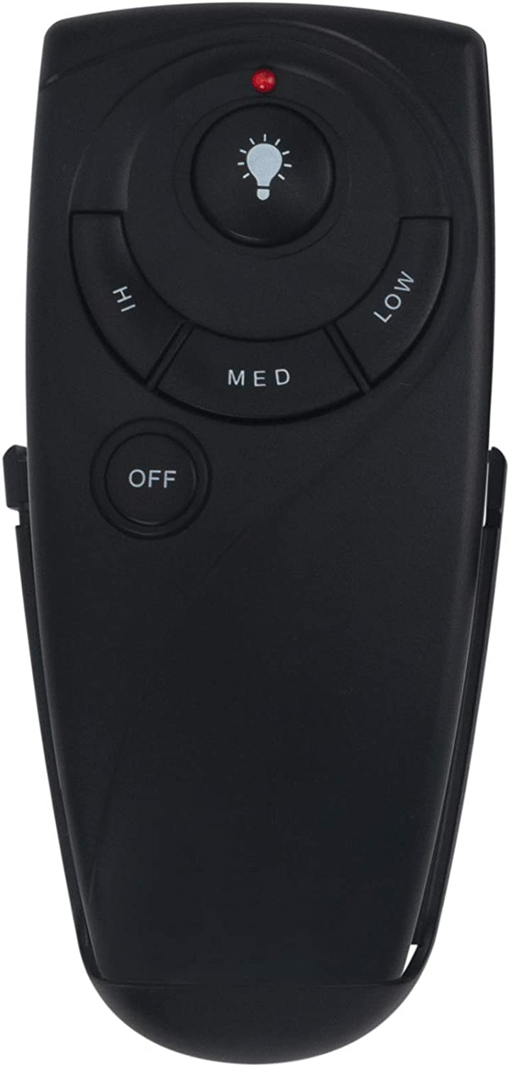 New UC7083T Replacement Remote Control fit for Hampton Bay Harbor-Breeze Home Decorators Collection Ceiling Fan Wireless Remote with Remote Control Mount Without Reverse Function