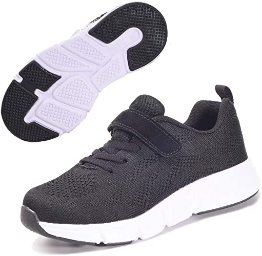 Kids Trainers Sneaker Boys Girls Casual Sports Running Walking Athletic  School PE Shoes Size 27-40CN: Amazon.co.uk: Shoes & Bags