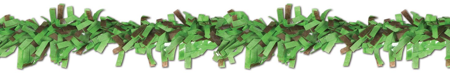 Beistle 55598-LGBR 24-Piece Tissue Festooning, 25-Feet
