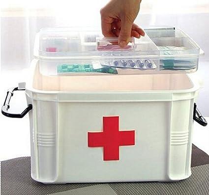 Superb Medicine Storage Box Multilayer/medicine Cabinet 33*24*19cm
