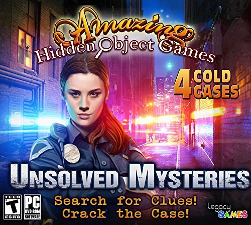 Legacy Games Unsolved Mysteries: Amazing Hidden Object Games (4 Game Pack) (PC)(Certified Refurbished)