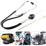 Engine Stethoscope Set, Auto Stainless Steel Mechanics Cylinder Stethoscope Car Engine Diagnostic Tool Hearing Tool
