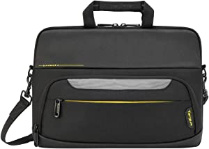 Targus CityGear Protective Laptop Sleeve with Padded fit up to 13.3-Inch Laptop, Black (TSS866GL)