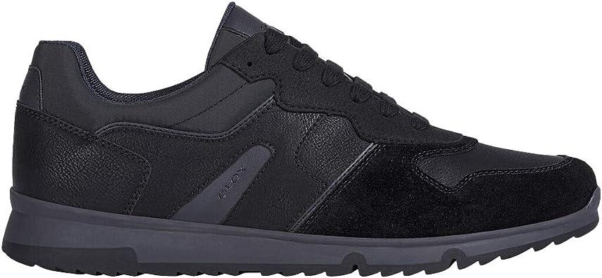 Insatisfecho Puntero Administración  Geox Zapatillas para hombre U043XA de ante negro casual, un calzado cómodo  adecuado para todas las ocasiones. Otoño invierno 2020-2021.: Amazon.es:  Zapatos y complementos