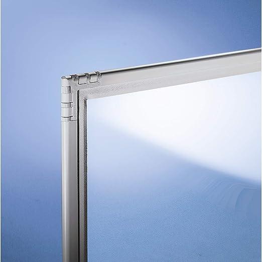 Separador de cristal acrílico – Transparente – 650 x 1950 mm ...