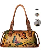 Anna By Anuschka Satchel Handbag & Purse Holder