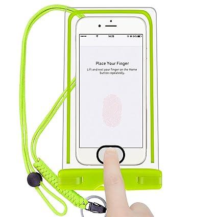 Amazon.com: Universal Funda Impermeable teléfono celular ...