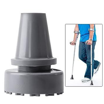 Rosenice Inner Diameter Non Slip Accessories Crutches Rubber Crutch