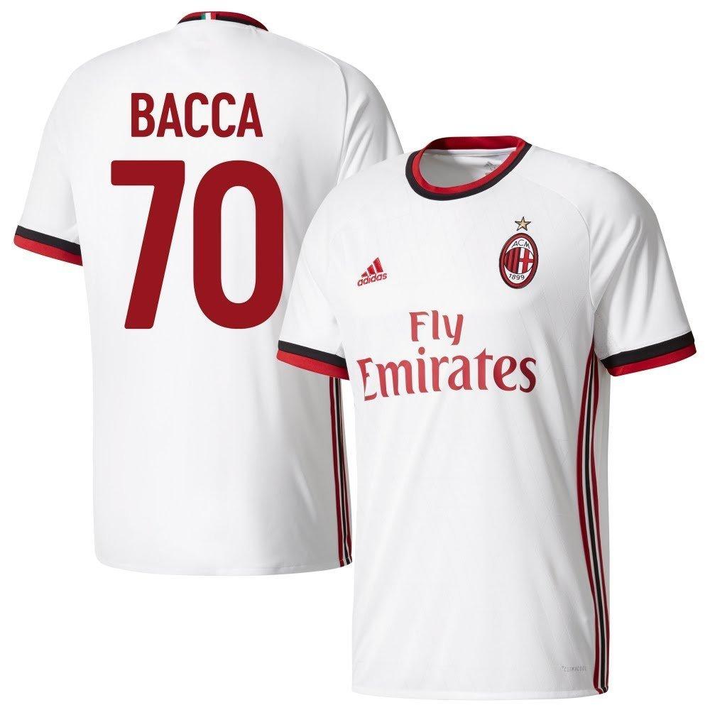 AC Mailand Away Trikot 2017 2018 + Bacca 70 (Fan Style) - XXL