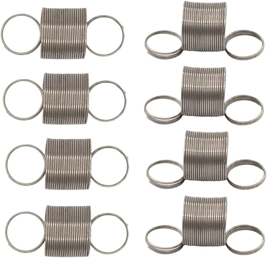 8Pcs W10400895 Automatic Washer Tub Centering Suspension Spring Set For Whirlpool, Roper, Admiral, PS3497596 1938554 AH3497596 EA3497596