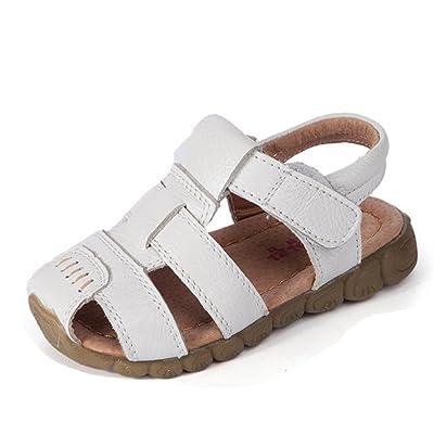 Ohmais Enfants Chaussure bebe garcon premier pas Chaussure premier pas bébé sandale en cuir souple