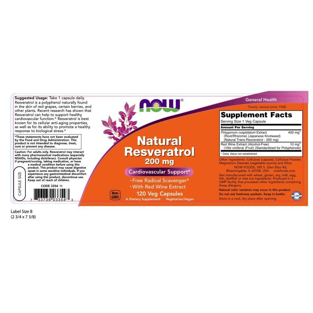 Natural Resveratrol - Mega Potency 120 vcaps: Amazon.es: Salud y cuidado personal