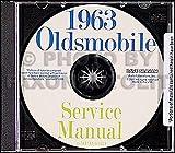 1963 Oldsmobile CD-ROM Repair Shop Manual