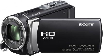 Sony HDR-CX190E - Videocámara (importado de Inglaterra): Amazon.es ...