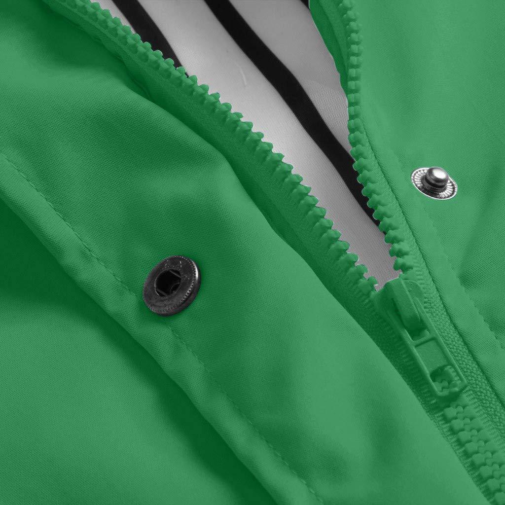aihihe Womens Outdoor Lightweight Jacket Coat Plus Size Waterproof Windproof Rain Jackets Hooded Raincoat Windbreaker