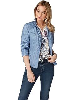 Geschäft Wählen Sie für echte größter Rabatt Bonita Damen Jacke Lederjacke, Uni, Langarm: Amazon.de ...