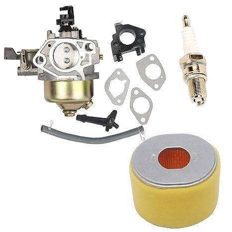HIFROM Reemplazo Carburador con Filtro de Aire bujía Enchufe ...