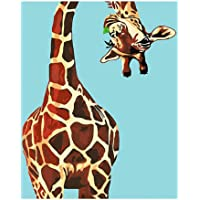 AAAA giraffe, jigsaw puzzles for adults 1000, For Home Decoration Painting 75 * 50CM