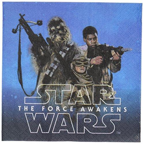 Star Wars Episode VII Beverage Napkin, Party Favor ()