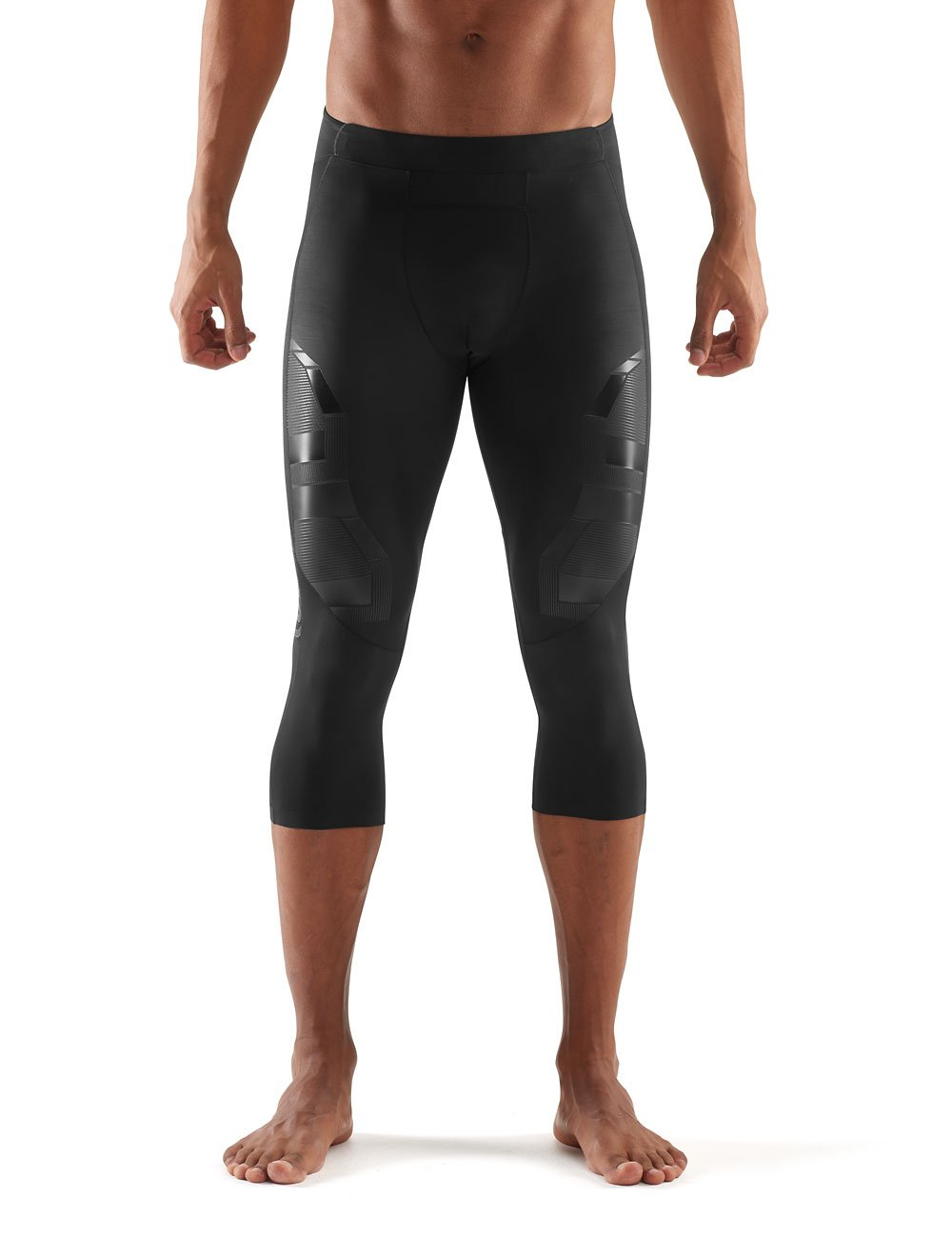 Skins Men's A400 Compression 3/4 Tights, Oblique, Small
