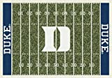 Milliken 4000018746 Duke College Home Field Area Rug, 10'9'' x 13'2'', 01512 Home Field