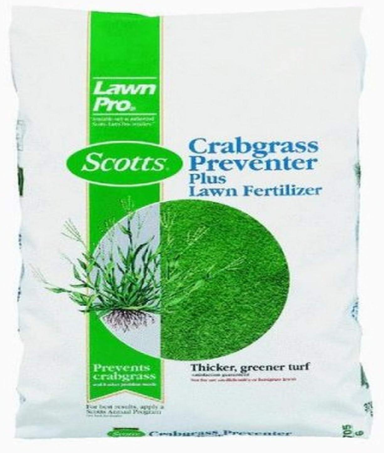 Scotts LawnPro Crab Grass Preventer Plus Lawn Fertilizer - 14 lb. 39605
