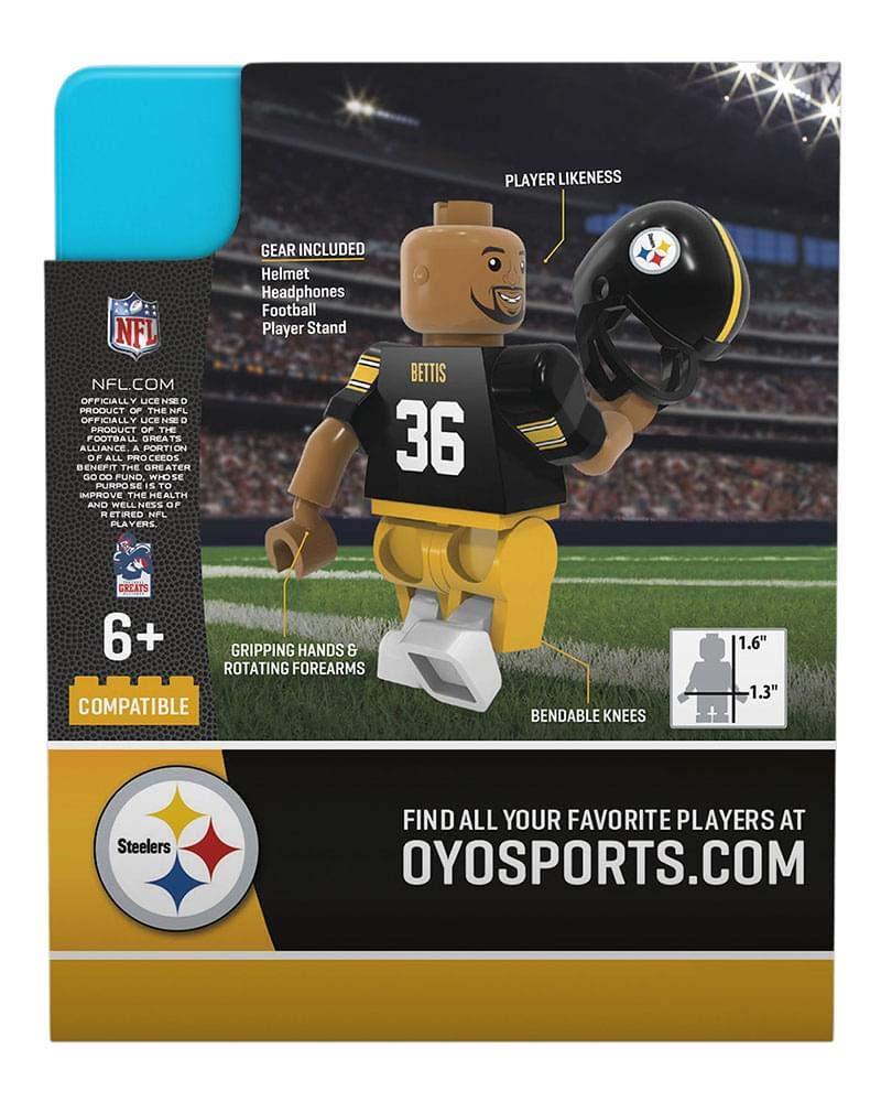 Jack Lambert Pittsburgh Steelers OYO NFL G4 Gen 4 Mini Figure Minifigure