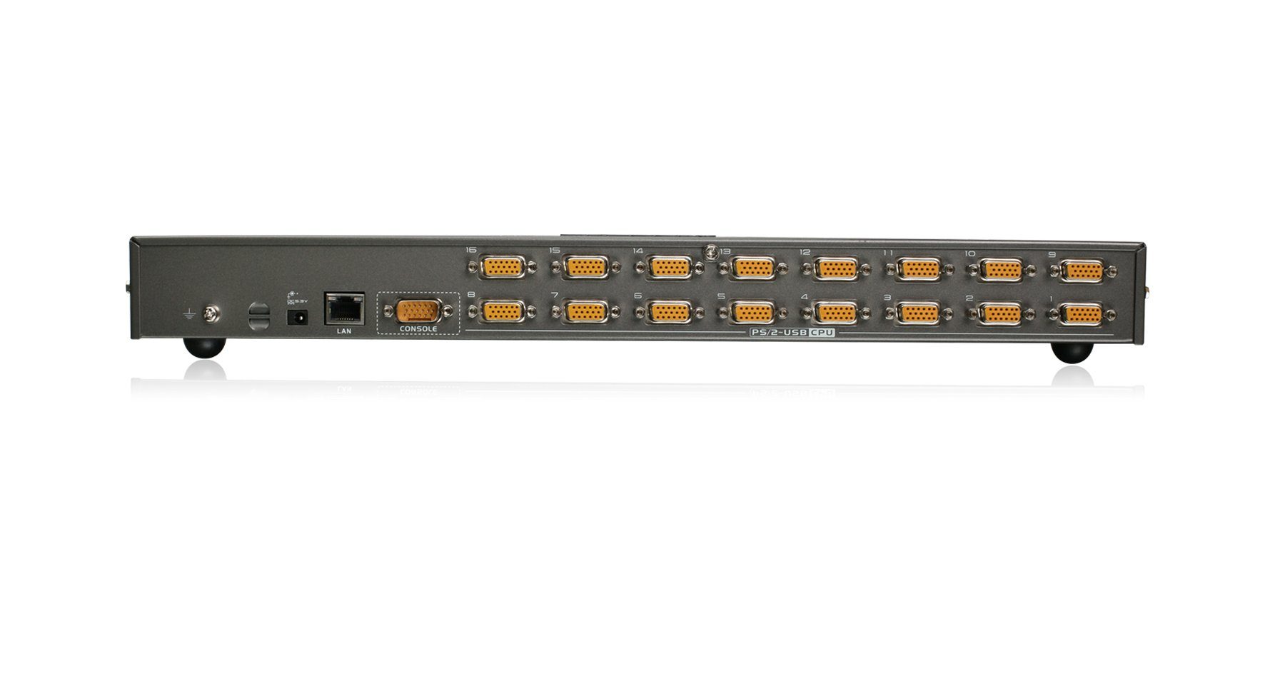 IOGEAR 16-Port IP Based KVM Kit with PS/2 and USB KVM Cables, TAA Compliant, GCS1816iKITTAA by IOGEAR (Image #2)