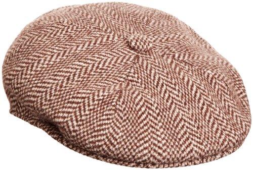 Kangol Men's Herringbone 504 Hat, Brown, Medium ()