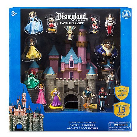 Disneyland Sleeping Beauty Castle Play Set