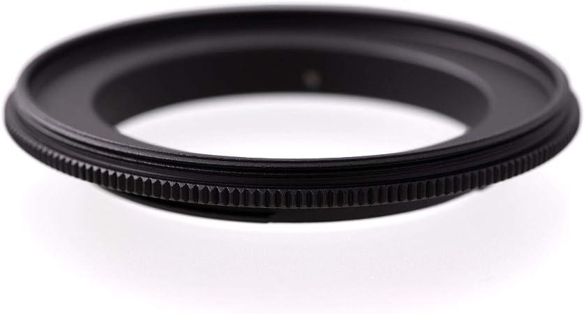 77mm à 77mm Mâle Photo Objectif Adaptateur Inverse Bague Coupleur Macro