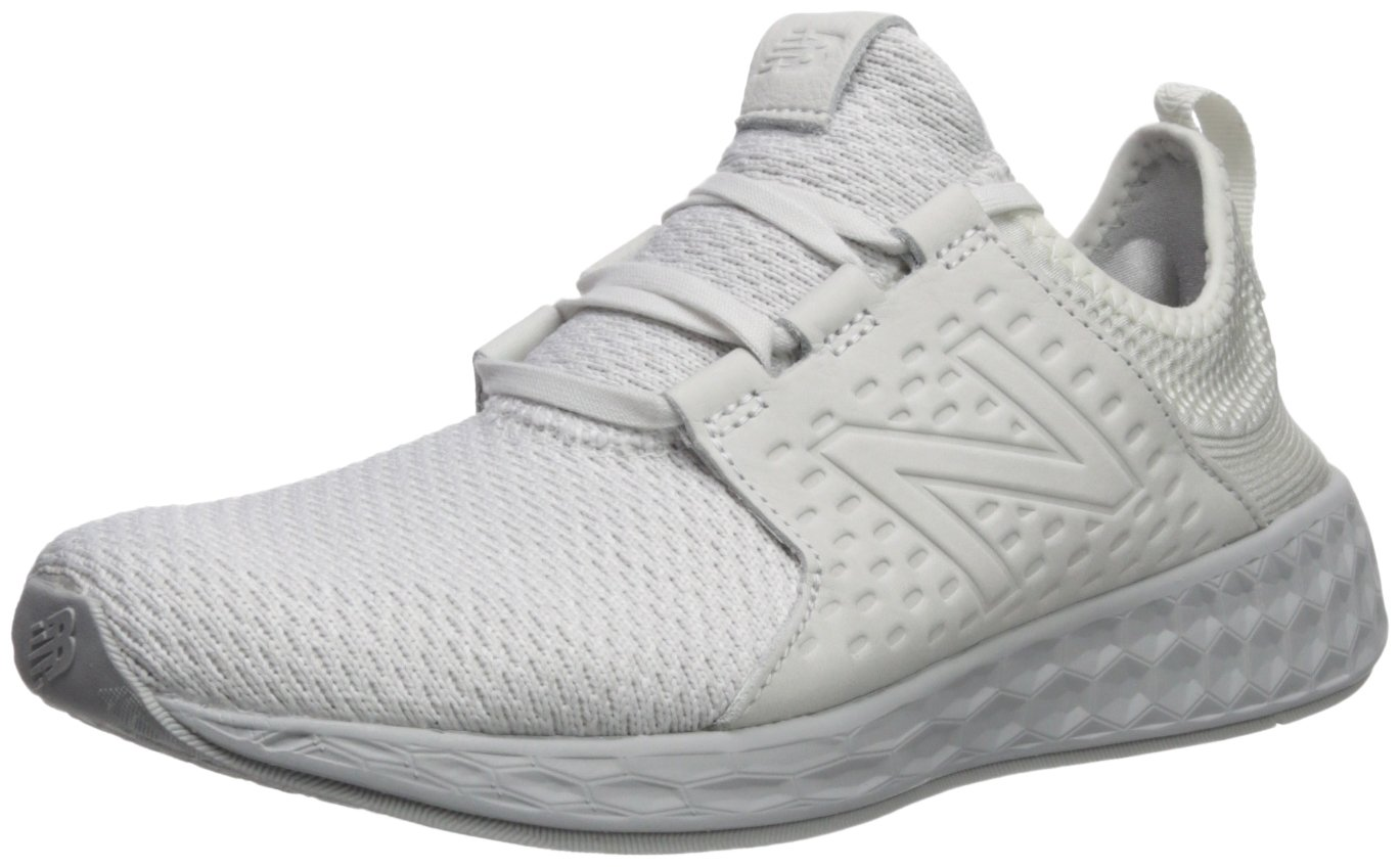 New Balance Men's Fresh Foam Cruz Running Shoe,White Munsell/Nimbus Cloud,11 D(M) US by New Balance