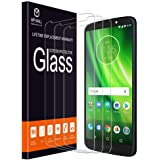 [3-Pack] MP-MALL Screen Protector for Moto G6 Play/Moto G6 Forge, Motorola Moto G6 Play [Tempered Glass] with Lifetime Replacement Warranty