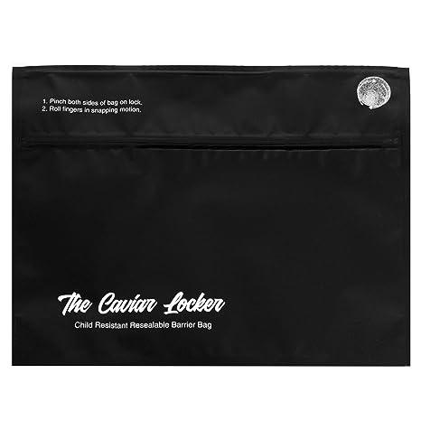 Caviar Locker Mylar - Bolsas de salida CR a prueba de olores ...