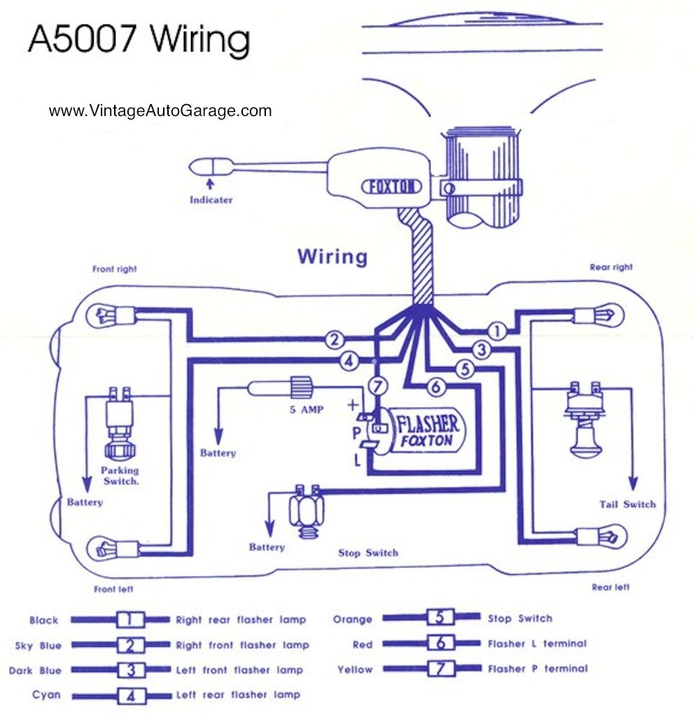 Signal Stat Wiring Diagram Signal Stat 900 Turn Signal Switch Wiring