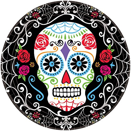 [Day of the Dead 10.534; Luncheon Plates (18 Pack)] (Costume Ideas For Day Of The Dead)