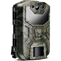 Victure Trail Game Camera 20MP 1080HD Night Vision Motion Activated with Upgrade Waterproof Design 38Pcs No Glow IR LEDs for Hunting and Wildlife Watching