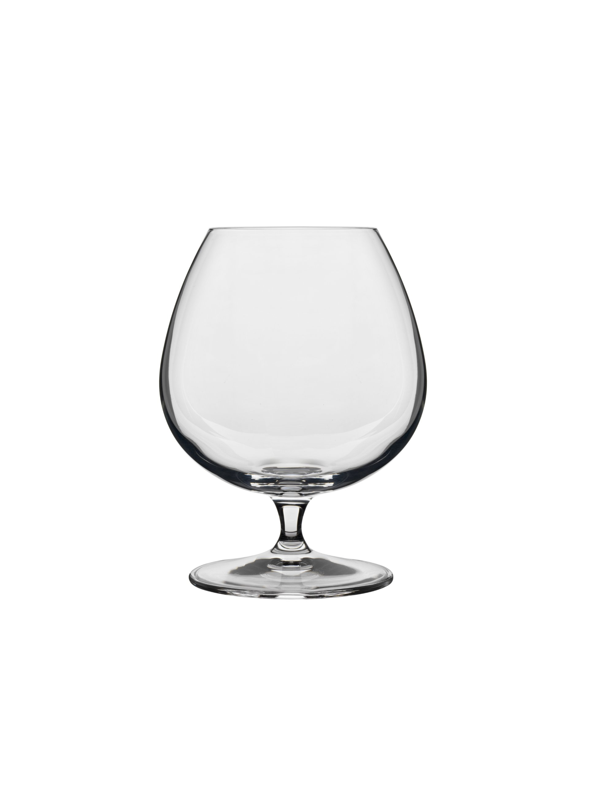 Luigi Bormioli 10564/02 Crescendo 15-1/2-Ounce Brandy Snifter,Clear , Set of 4 by Luigi Bormioli
