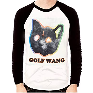 7da1b93cd37c Men s OFWGKTA GOLF WANG ODD FUTURE TYLER THE CREATOR CAT Long Sleeve T- shirts (
