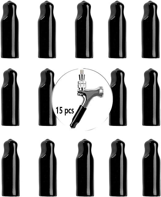 24 x DRAFT BEER TAP SOOTHER KEGERATOR FAUCET CAPS SPOUTS Bar Cap Pour Plug Cover